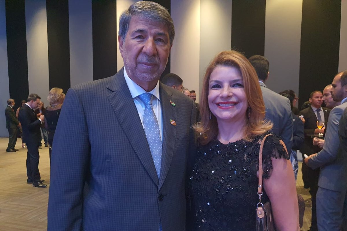 Ibrahim Alzeben e Isabel Almeida