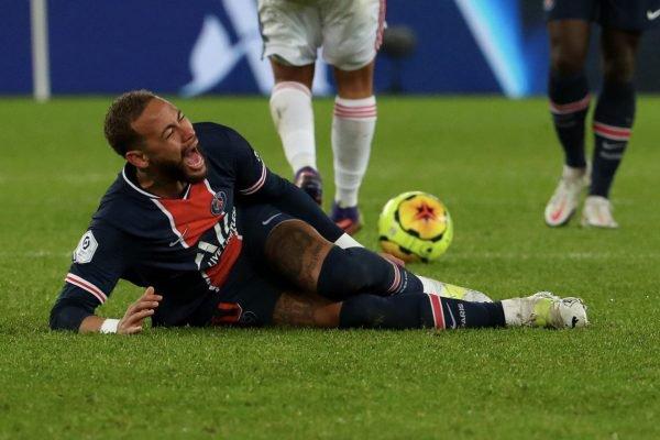 Neymar machucado