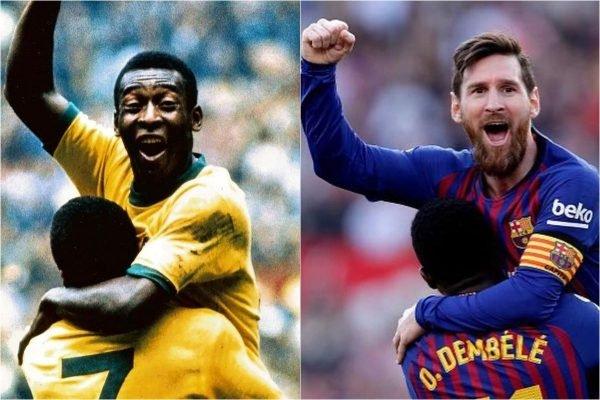 Pelé e Messi