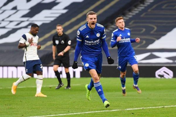Vardy Leicester x Tottenham