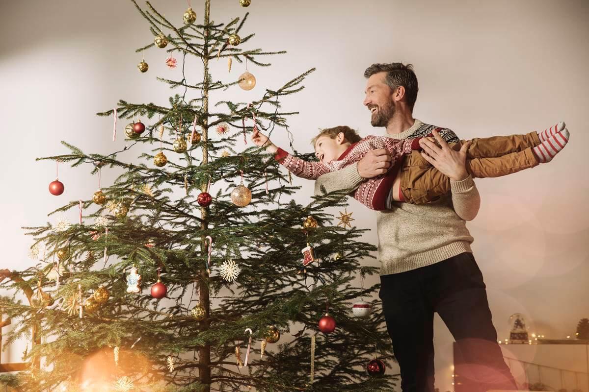 Pai e filho Natal