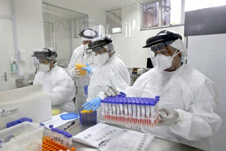 lacen BA laboratorio exame covid teste coronavirus