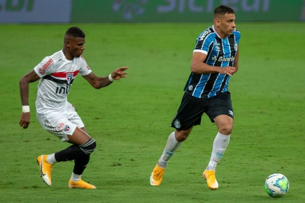 Grêmio e São Paulo na Copa do Brasil