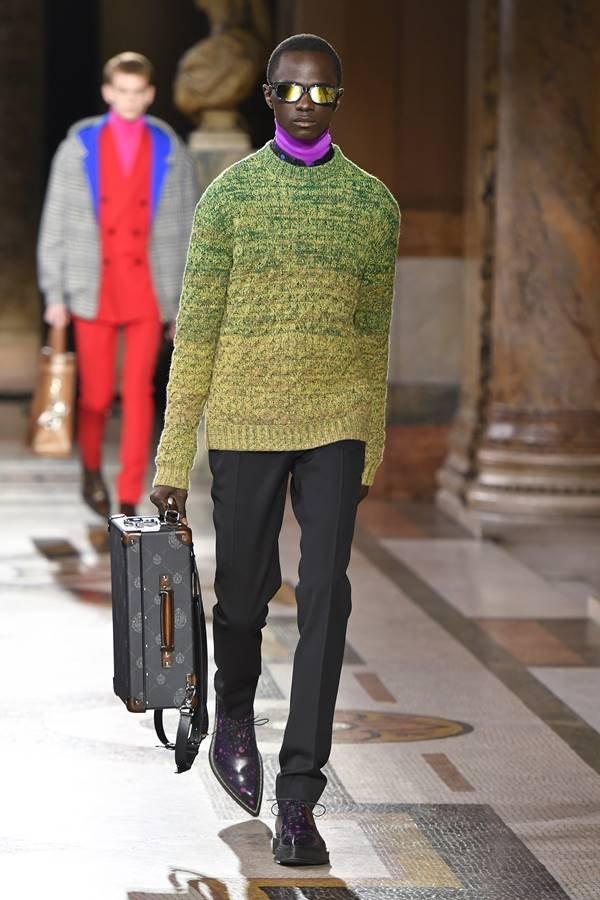 Desfile da Berluti na Semana de Moda de Paris