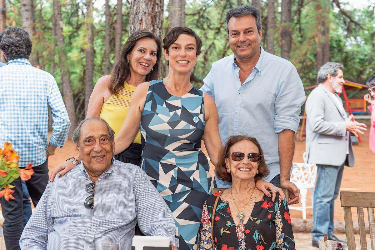 Margarete Malvar Mendonça, Maria Paula Fidalgo, Cyro Fidalgo, Wilson Fidalgo e Gilka Fidalgo