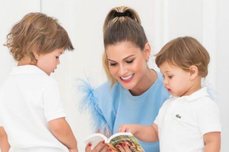 Andressa Suita e filhos