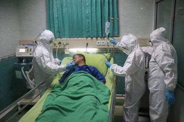 homem hospital covid coronavírus