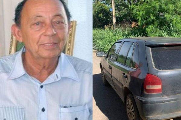 Polícia Civil de Goiás encontrou o carro roubado do jornalista Eduardo Jordão