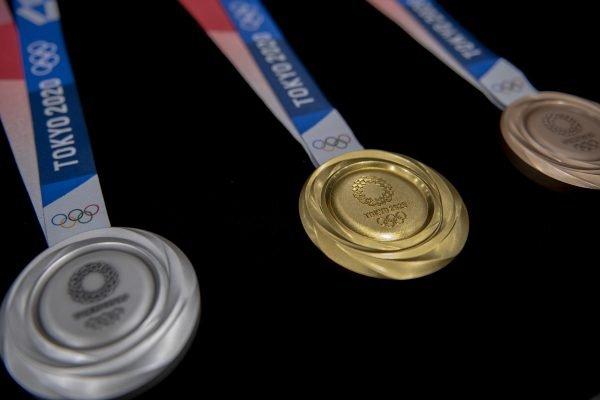 Medalhas dos Jogos de Tóquio