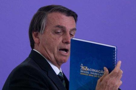 BJair Bolsonaro Presidente - Plano de vacinacao contra covid no brasil _ cerimonia no planalto