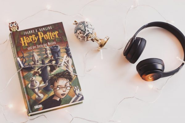 Livro de fantasia Harry Potter