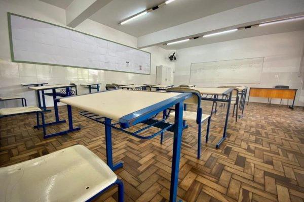 Escola durante a pandemia