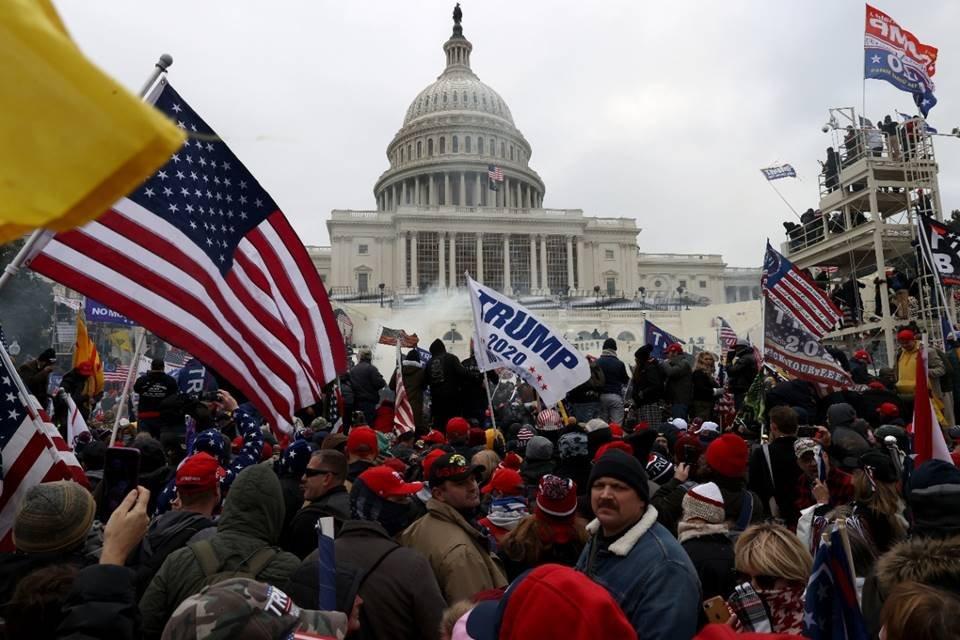 Manifestação em Washignton DC