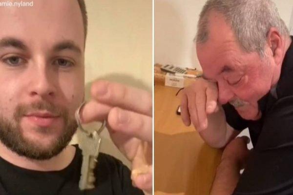 Youtuber paga dívida da casa para pai