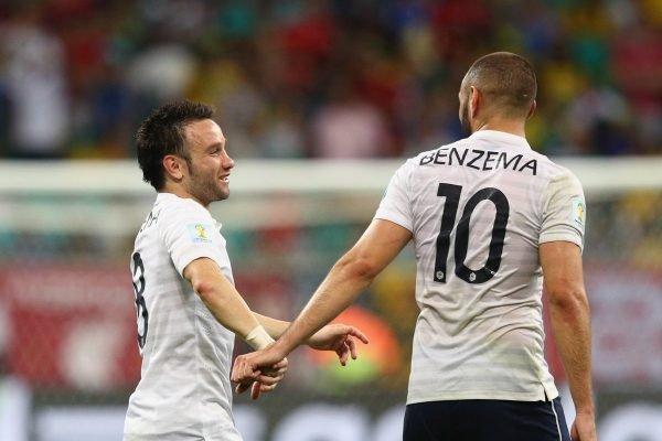 Benzema e Valbuena