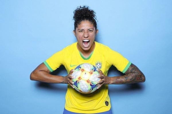 Cristiane, jogadora da Seleção Brasileira feminina