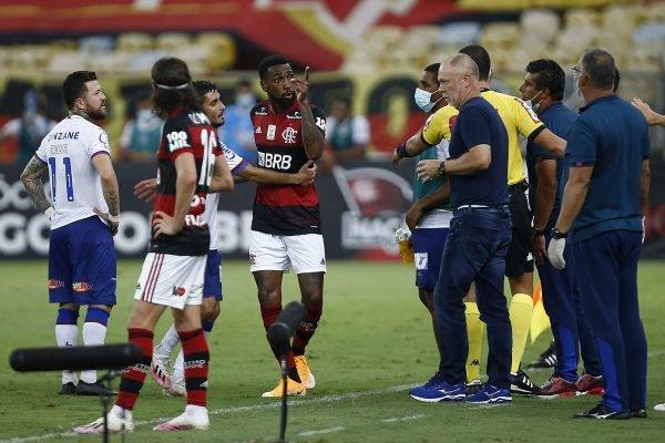 Gerson Flamengo x Bahia