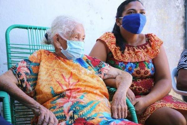 idosa de 108 anos vence a covid-19 em maceió