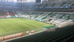 Mosaico do Palmeiras irrita o River