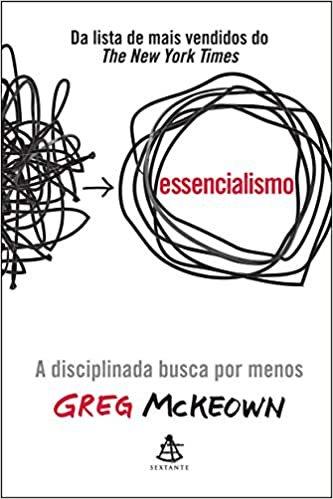 Livro Essencialismo (Português) Capa comum