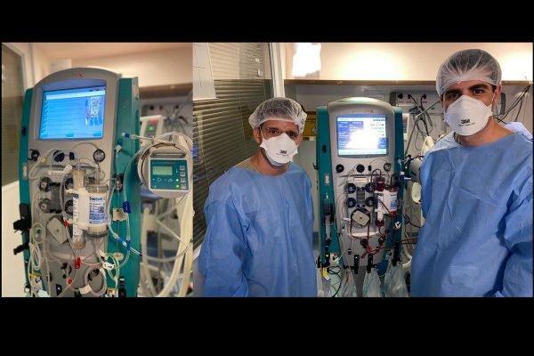 médicos brasileiros criam a terapia de hemoperfusão para pacientes graves de covid coronavírus