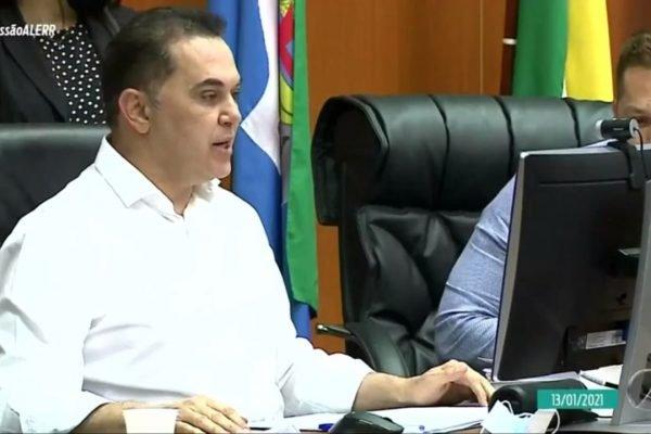 Presidente da Assembleia Legislativa de Roraima, deputado Jalser Renier
