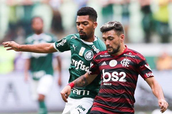 Arrascaeta Palmeiras x Flamengo