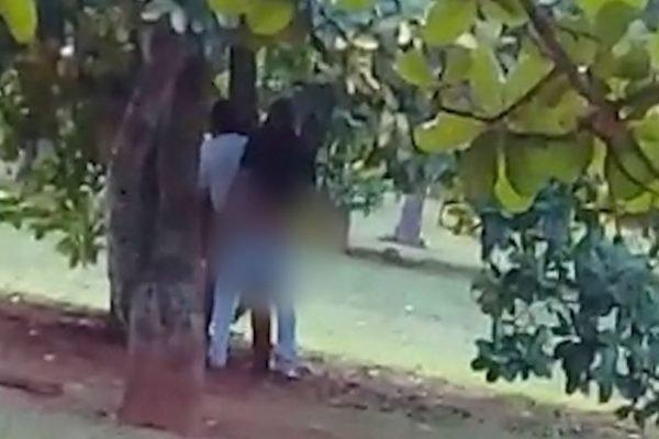 sexo entre homens no Parque da Cidade