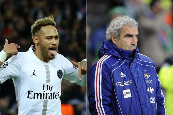 Neymar e Domenech