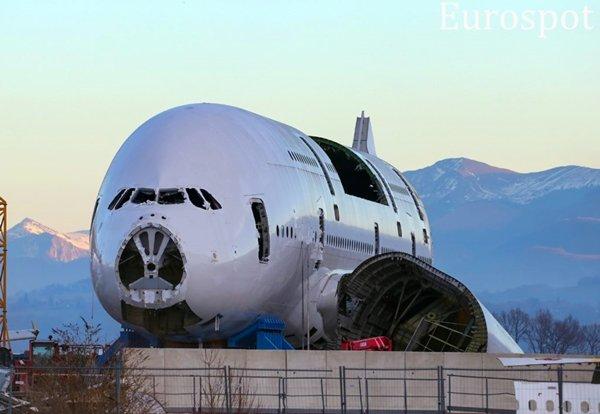 Airbus A380 desmontado