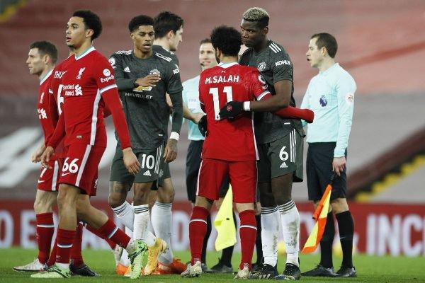 Liverpool x Manchester United - Premier League