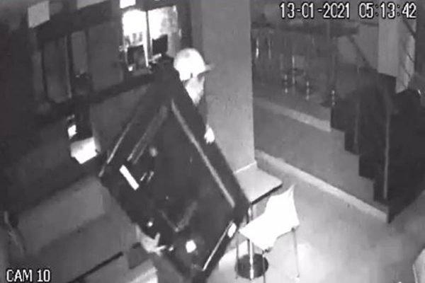 Homem é preso por suspeita de furtar televisão de restaurante no DF