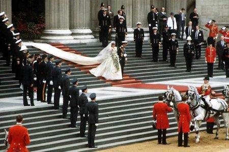 Casamento Lady Di e princípe Charles