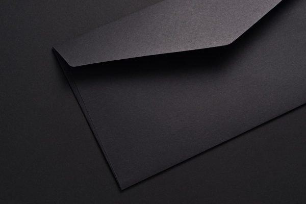 Opening Black Envelope