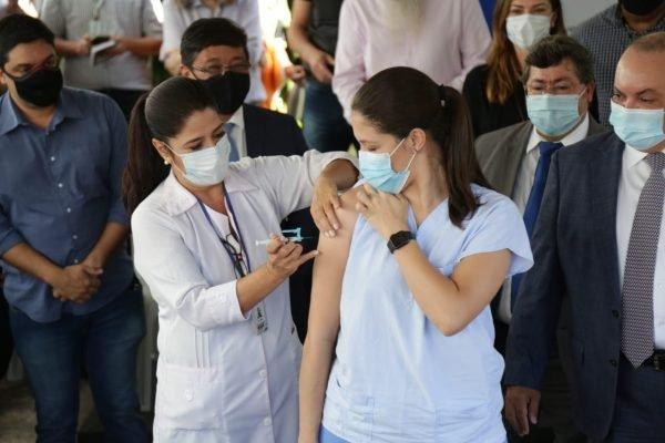 Vacinação da Covid no Hran