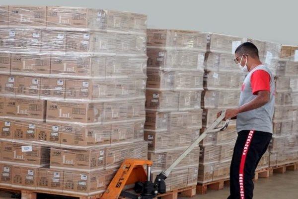 Estoque de vacina contra Covid em Goiânia