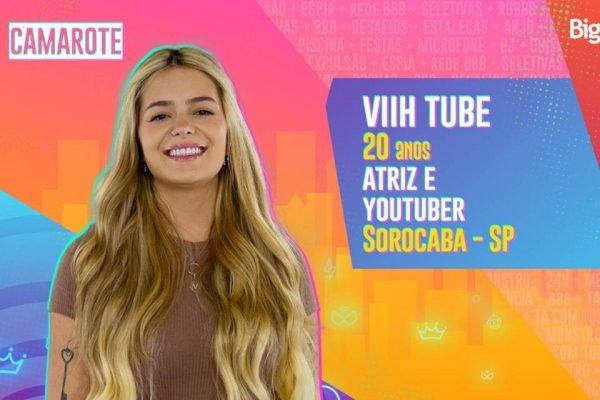 youtuber Viih Tube está no BBB21