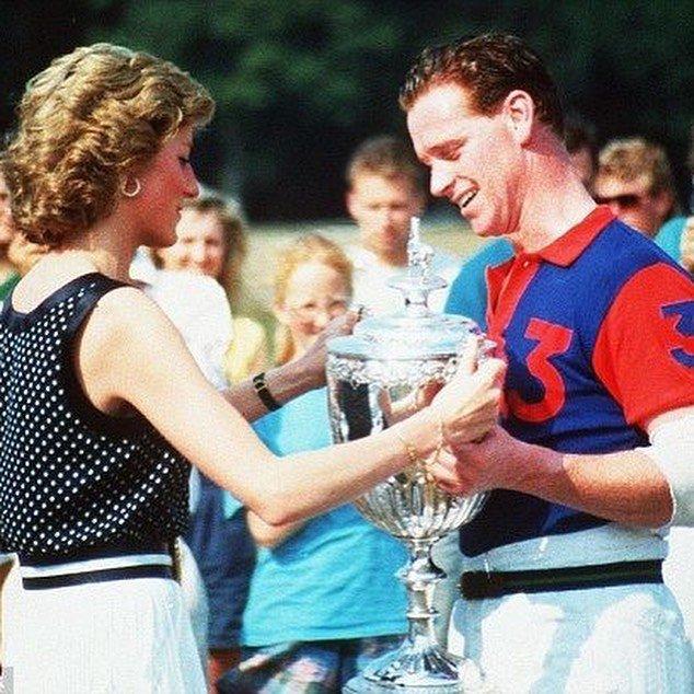 Princesa Diana e James Hewitt