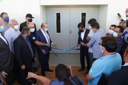 Ibaneis inaugura Hospital de Campanha em Ceilândia