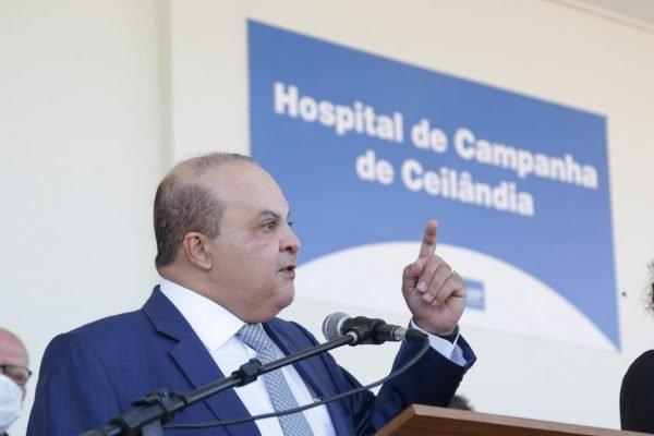 Ibaneis em Hospital de Campanha de Ceilândia