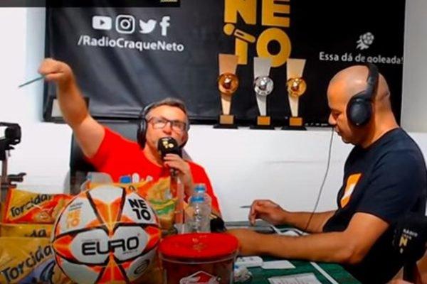 Craque Neto detona Fernando Diniz e Daniel Alves no São Paulo