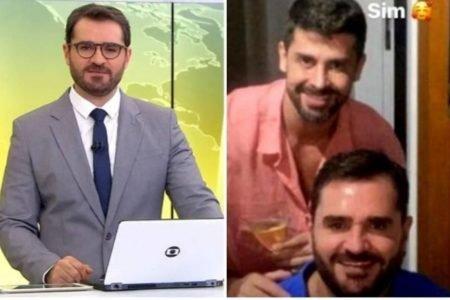 Marcelo Cosme e namorado
