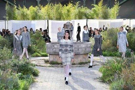 Desfile de haute couture da Chanel