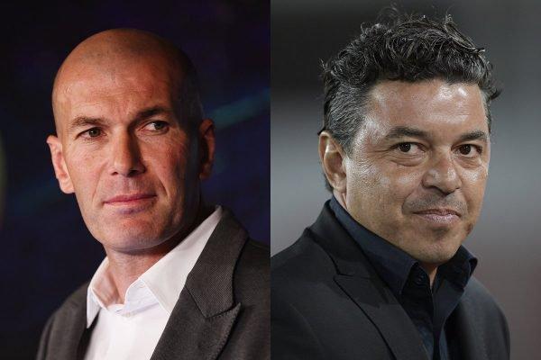 Zidane e Gallardo