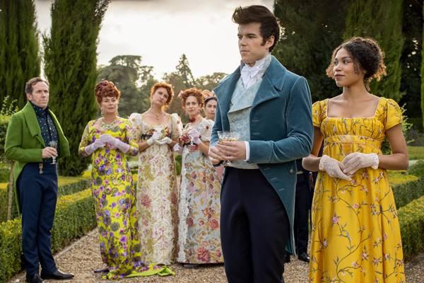 Trecho da primeira temporada da série Bridgerton