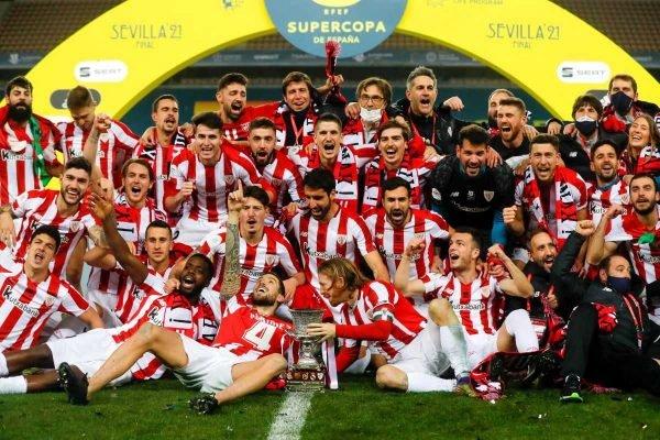 Athletic Bilbao vence a Supercopa da Espanha