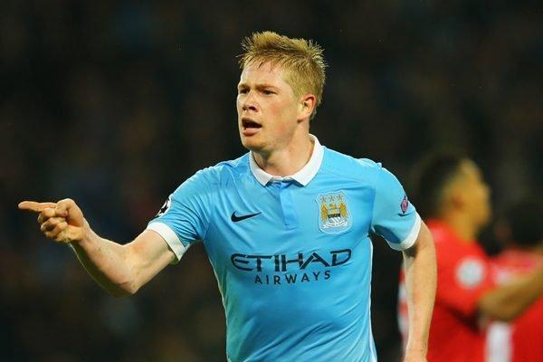 Manchester City De Bruyne