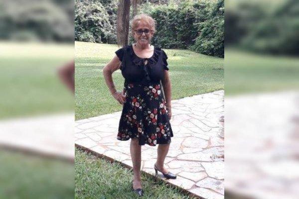 Maria das Graças Paim, de 71 anos, vítima da Covid-19
