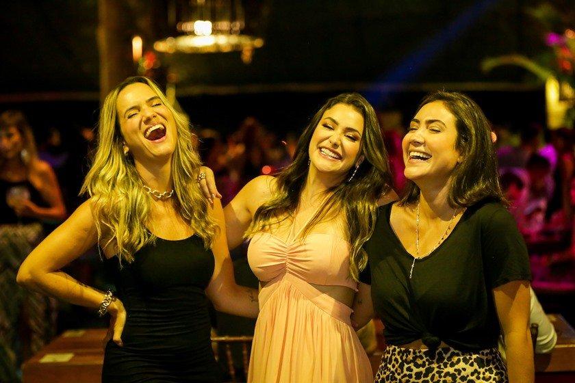 Andréia Araújo, Isabela de Paula e Agatha Maia