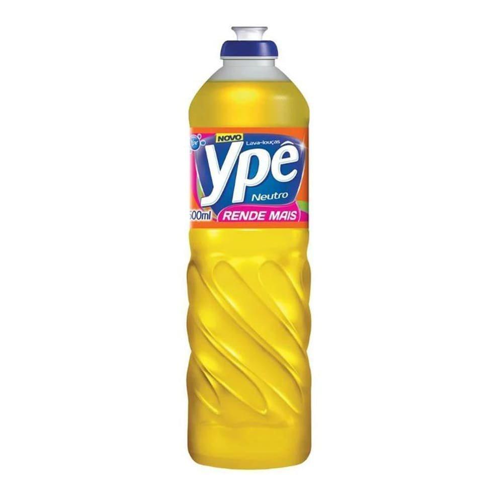 Detergente liquido neutro, da Ype, com 100ml